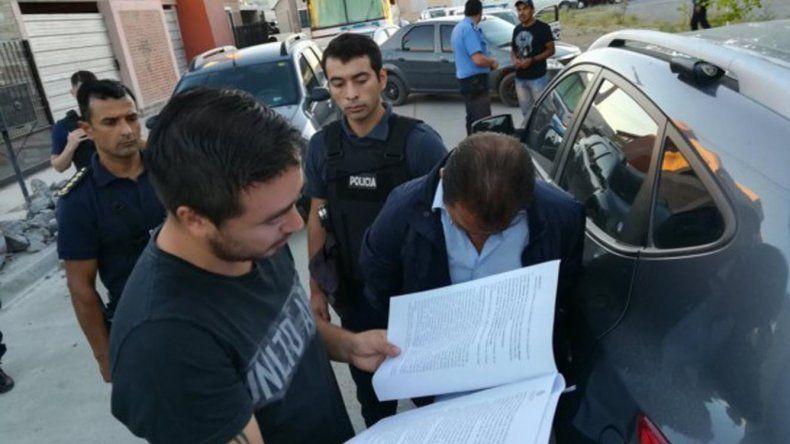Diego Correa fue detenido en su domicilio.