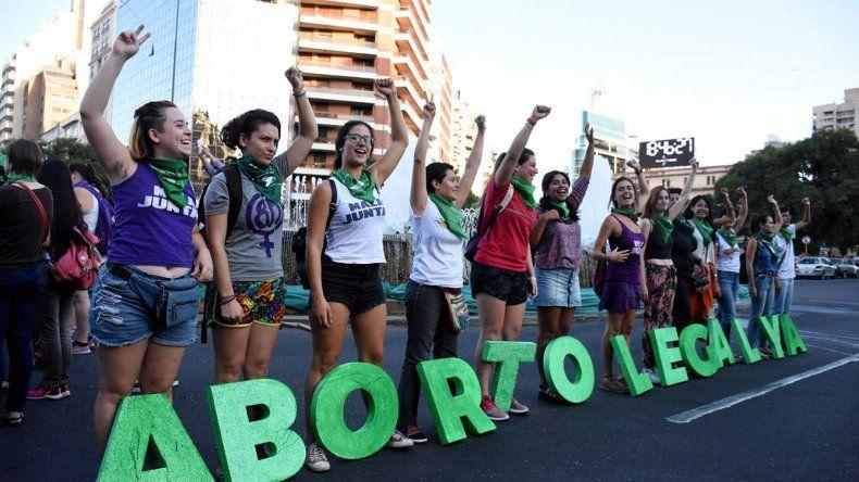 La despenalización del aborto es uno de los principales reclamos de los colectivos de mujeres.