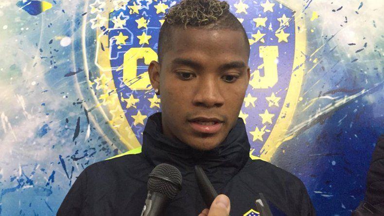 El colombiano Wilmar Barrios reconoció que la ausencia de Fernando Gago es clave en el armado de Boca.
