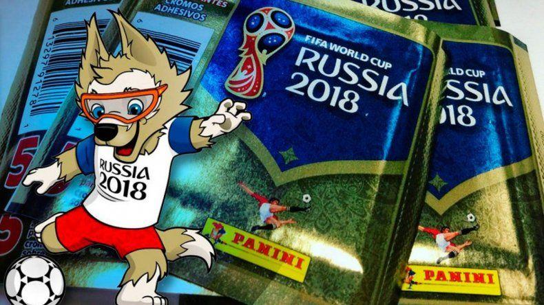 Así será la Selección argentina según el álbum de Rusia 2018
