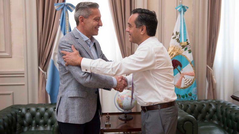 Arcioni se reunió con el ministro de Educación de la Nación