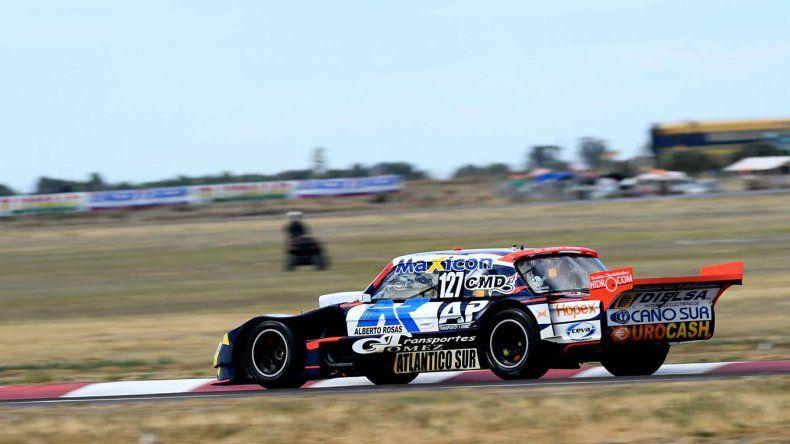 El comodorense Marcelo Agrelo viene de imponerse en el autódromo de Viedma.