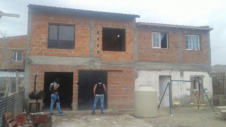 El allanamiento realizado en el barrio Abel Amaya