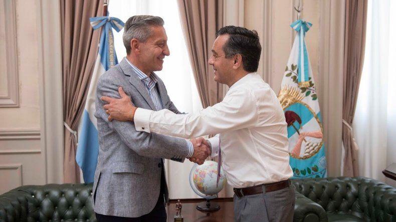 Arcioni se reunió en Buenos Aires con el ministro de Educación de la Nación