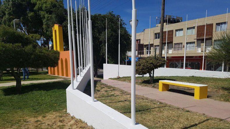 Restauraron el monumento de Rivadavia y Asturias