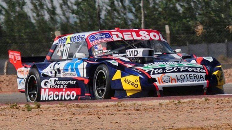 Marcelo Agrelo se quedó con la pole