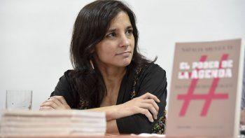 Natalia Aruguete ya visitó Comodoro Rivadavia en abril de 2016 cuando presentó su libro El Poder de la Agenda.