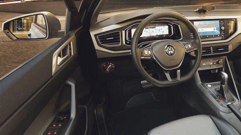 Volkswagen Virtus, Sedán de alta tecnología