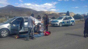 La detención de los dos sospechosos por parte de policías de Comodoro Rivadavia y Mar del Plata.