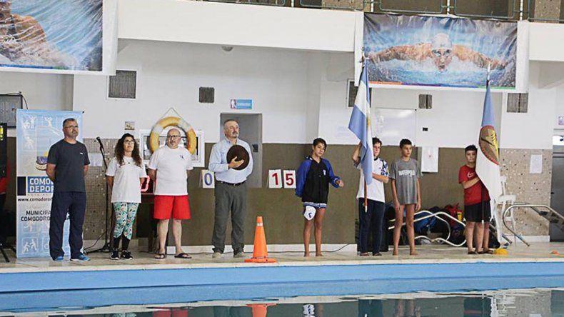 Hoy dará por finalizado el Encuentro Nacional de Clubes U13 que se lleva a cabo en el natatorio del Complejo Huergo.