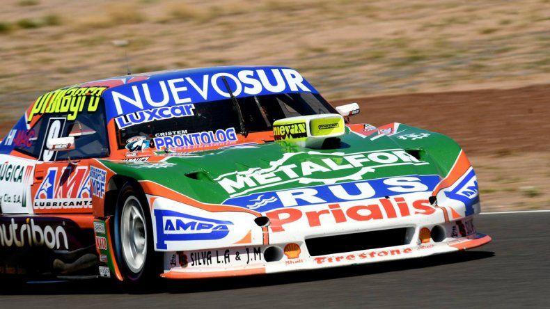 El Dodge de Jonatan Castellano que se impuso ayer en la segunda final del Turismo Carretera.