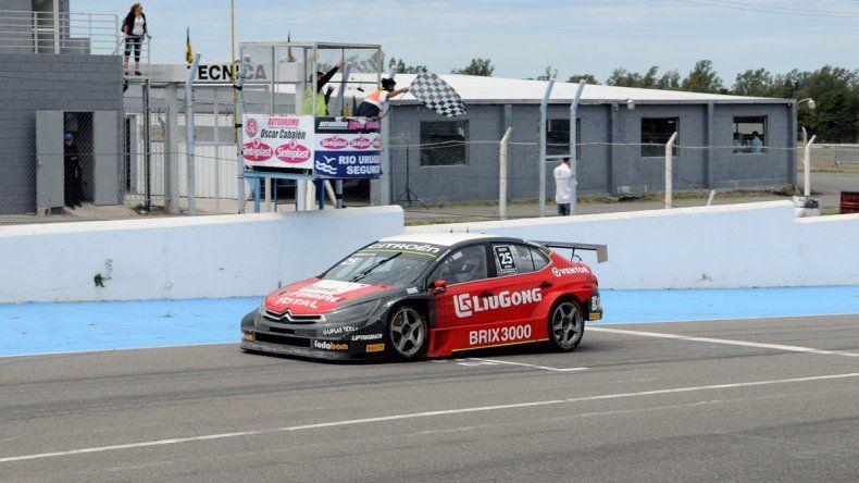 El Citroen de Marcelo Ciarrocchi que se impuso ayer en la primera fecha del TC2000.