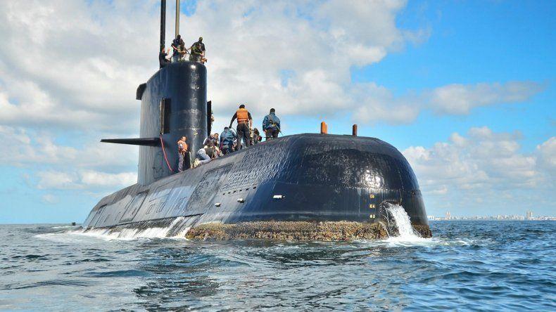 En el último mensaje emitido por el submarino ARA San Juan