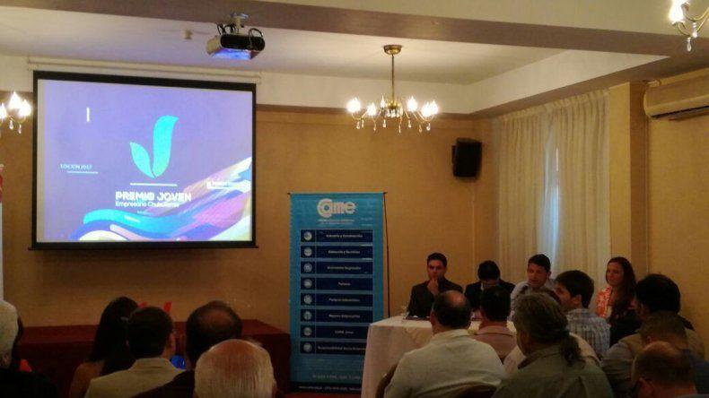 En Puerto Madryn presentaron a los siete emprendimientos que representarán a Chubut en el Concurso Nacional de Jóvenes Empresarios.