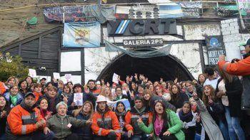 Desde la Cuenca Carbonífera, mujeres santacruceñas intentan visibilizar la crisis que allí se vive.