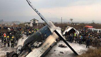 Accidente aéreo en Nepal. Foto: Reuters.