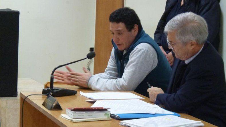 Nelson Aguilante comenzó ayer a ser juzgado por el femicidio de su pareja