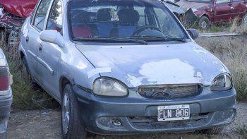 El auto de la víctima permanece secuestrado en la Seccional Cuarta.