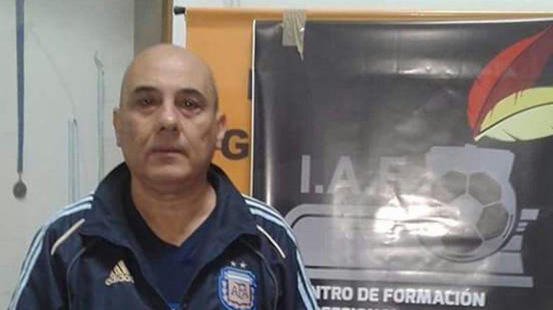 Rodolfo Alejandro Russo invita a interesados a sumarse al curso de árbitros provinciales.