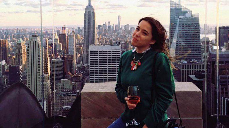 Carla Vallejos Blanco tenía 29 años y falleció el domingo cuando el helicóptero en el que viajaba se precipitó a tierra sobre las aguas del East River de Nueva York.