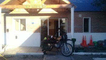 secuestraron una moto robada en trelew