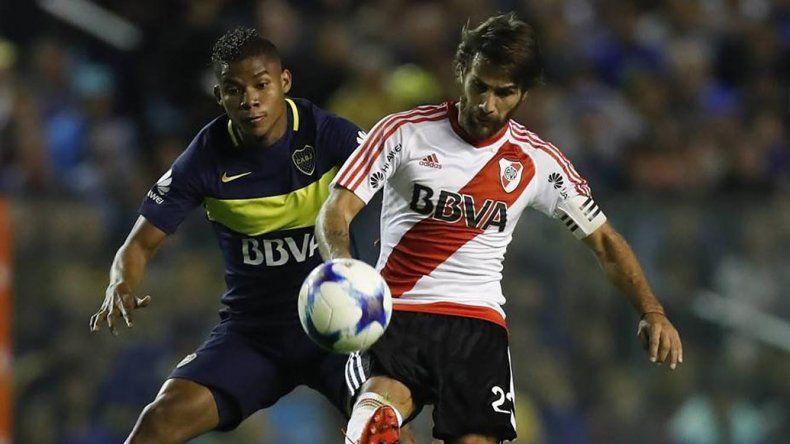 Leonardo Ponzio y Frank Fabra serán protagonistas de un nuevo Superclásico del fútbol argentino y esta vez será por un título a todo o nada.