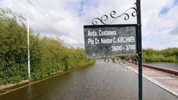 Sesenta evacuados en El Calafate por la crecida del Lago Argentino