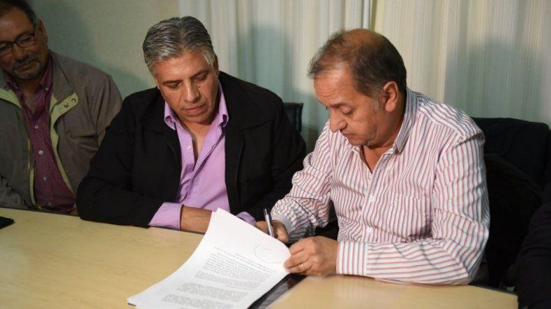 Empleados municipales cerraron acuerdo paritario del 10%