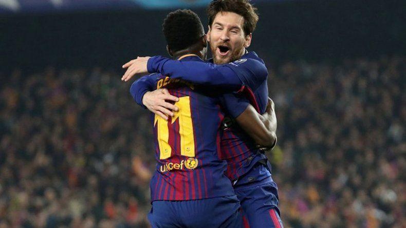 El Rey Messi catapultó al Barcelona a cuartos de final