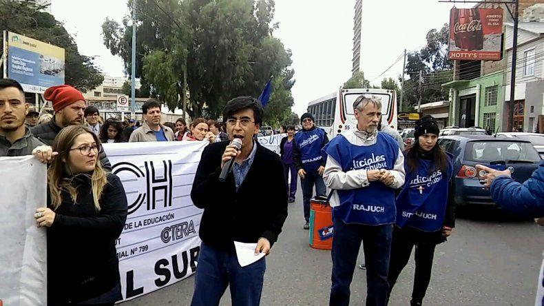 Foto y video: Martín Pérez/El Patagónico