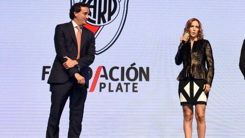 Las fotos del festejo de Luisana Lopilato por el triunfo de River en la Supercopa