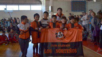 Los Norteños es uno de los equipos que participa en el torneo oficial de futsal de la CAI.