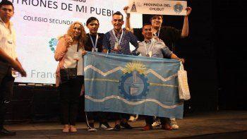 alumnos de comodoro rivadavia representaran a la argentina en ecuador