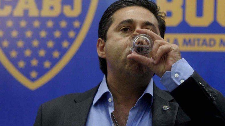 Daniel Angelici todavía no puede digerir el trago amargo que significó la derrota de Boca ante River en la final de la Supercopa.
