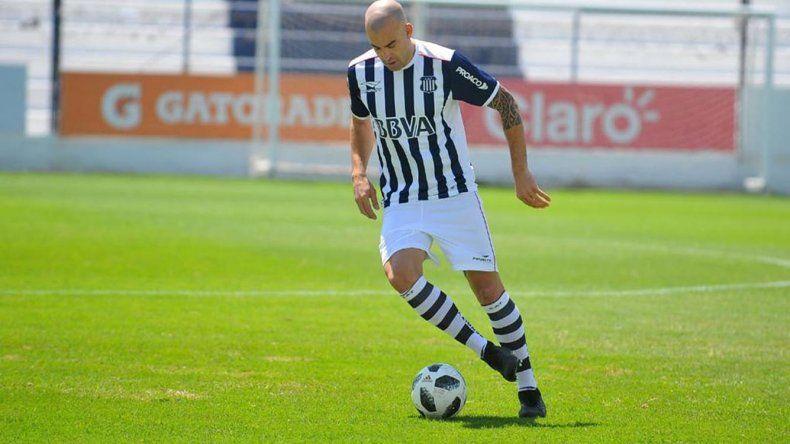 Santiago Silvia será esta noche uno de los delanteros en el ataque de Talleres de Córdoba.
