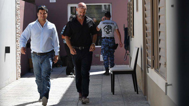 Los allanamientos que se desarrollaron el jueves en torno a la causa judicial.