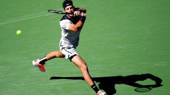 Juan Martín Del Potro jugará esta tarde la final de Indian Wells.