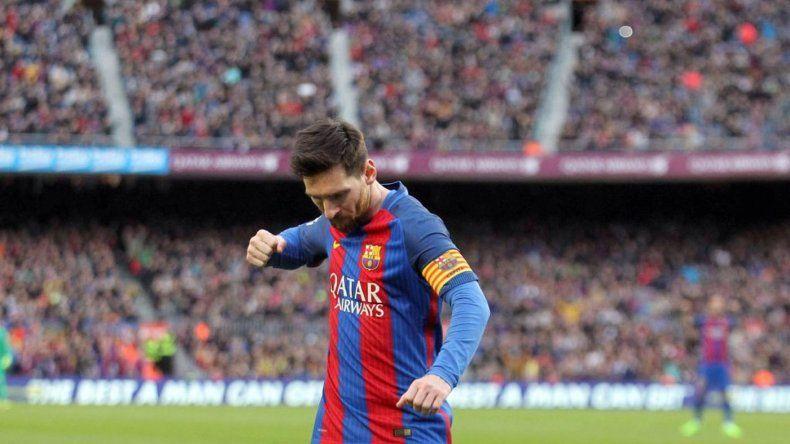 Messi convirtió un gol en el triunfo ante Athletic Bilbao