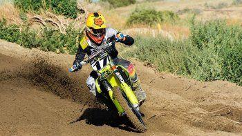 Juan Pablo Luzzardi se quedó ayer con la primera fecha del MX Patagonia de motocross que se corrió en la tarde de ayer en Rada Tilly.