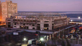 El estado de avance que presenta la obra del Estadio del Centenario.