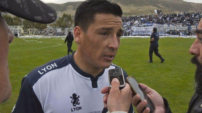 José Loncón volvió a Jorge Newbery