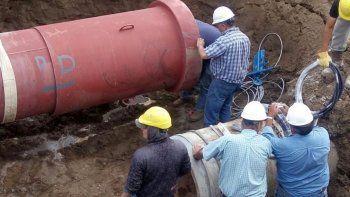 corte total de agua sin horario de normalizacion del servicio