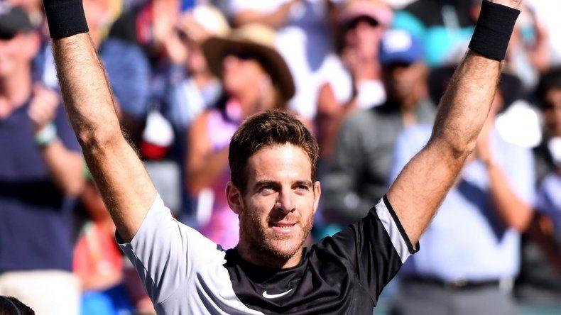 Juan Martín Del Potro logró el último domingo su primer Masters 1000 de tenis.