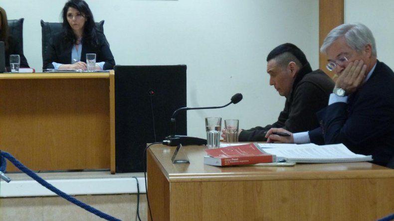 Aguilante ayer declaró ante el tribunal de juicio y alegó inocencia. Le atribuyó la muerte de Débora a una tercera persona