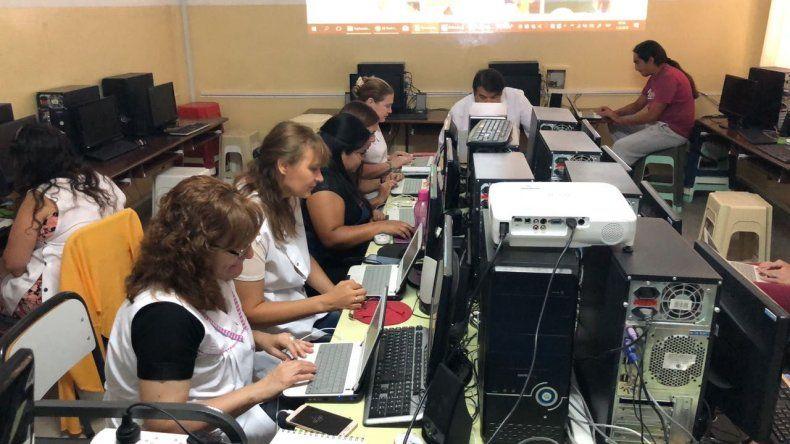 Comenzó la capacitación Dinamizando saberes digitales en las escuelas