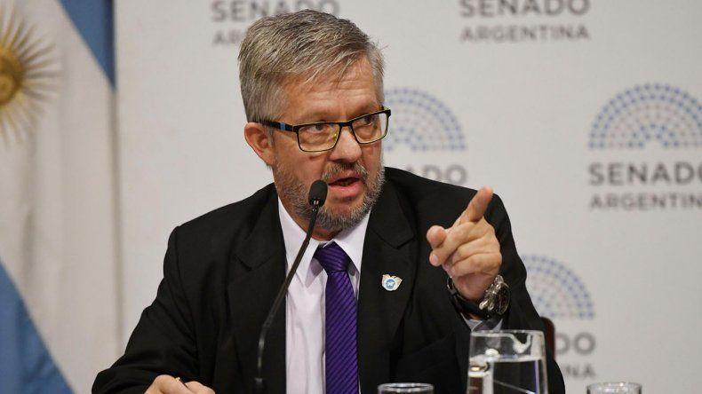 El senador por Tierra del Fuego del interbloque Argentina Federal