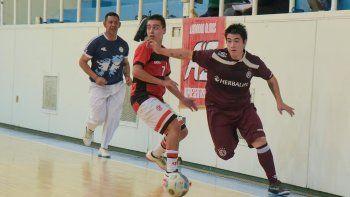 Lanús derrotó 6-3 a Flamengo y se convirtió en el nuevo puntero del torneo Clausura de fútbol de salón de Comodoro Rivadavia.