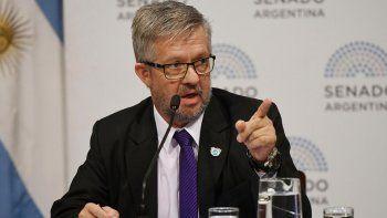 El senador por Tierra del Fuego del interbloque Argentina Federal, José Ojeda, es el presidente de la Bicameral por el ARA San Juan.