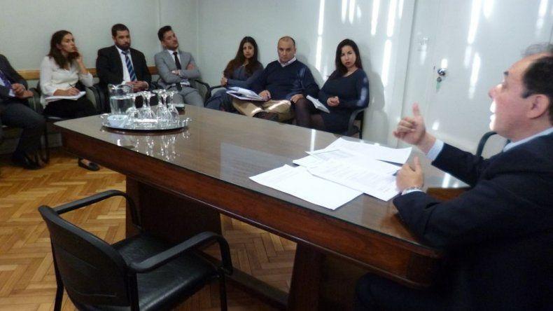 Porras Hernández mantuvo distintas reuniones para trabajar en el éxito de las investigaciones judiciales.