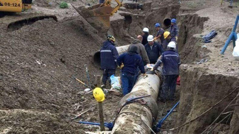 Reparan la avería del acueducto y al mediodía llegaría el agua